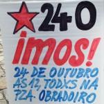 Esquerda Unida estará este sábado na mobilización das Marchas da Dignidade esixindo #PanTraballoTeito