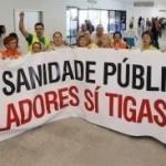 Esquerda Unida apoia o peche dos celadores e celadoras no Hospital Álvaro Cunqueiro