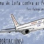 Arranca a III Semana de Loita contra as Fronteiras