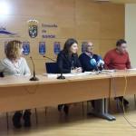 Yolanda Díaz esixe, en rolda de prensa en Narón, a retirada da cementeira do Castro e a restauración da zona
