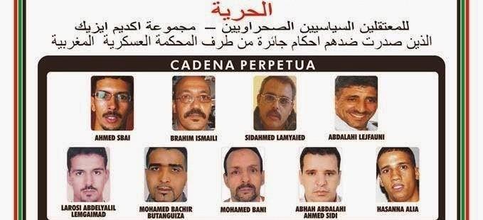 Libertad presos politicos Grupo Gdeim Izik