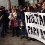 Yolanda Díaz e Xabier Ron defenden a liberdade de expresión no xuízo de Nicanor Acosta