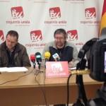 """X.Ron e M.Fernández presentan as xornadas """"Crise humanitaria: Ás portas de Europa"""" que percorrerán toda Galicia"""