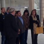 Esquerda Unida califica a visita ao aeródromo de Rozas de protocolaria e aséptica