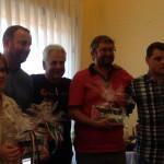 O xantar solidario de Sogaps homenaxea o traballo do Intergrupo Paz co Sáhara