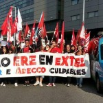 Esquerda Unida, contra o ERE de EXTEL, en A Coruña