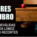 Este 26 de outubro participamos na folga educativa #NonÁsReválidas