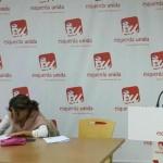 """Yolanda Díaz: """"O 25-S pon de manifesto que En Marea se consolida como espazo político e chega para quedarse"""""""