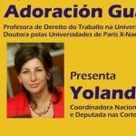 """Yolanda Díaz e Adoración Guamán imparten en Vigo o coloquio sobre """"o efecto dos tratados de libre comercio sobre o emprego"""""""