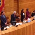 Constitúese a X Lexislatura no Parlamento de Galicia
