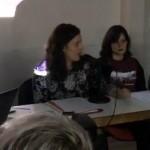 """Vanessa Angustia fala da construción dunha cultura feminista no coloquio """"Xaque mate ao patriarcado"""", en Madrid"""