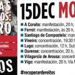 EU apoia a mobilización 15-D e coincide cos sindicatos na necesidade de saír ás rúas para recuperar os dereitos