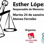 """Ferrol acolle este martes 24 o coloquio que leva por título: """"Querela arxentina. Unha fenda á impunidade franquista"""""""