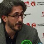 Esquerda Unida apoia a Carlos  Portomeñe, denunciado, paradóxicamente, por ter un  comportamento ético ao denunciar un posible caso de  corrupción en Lugo