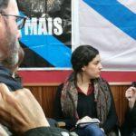 """Yolanda Díaz imparte en Cambre o coloquio que leva por título: """"O que non nos contan sobre as pensións"""""""