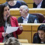 Vanessa Angustia pregunta ao Ministro sobre a responsabilidade do Goberno respecto ao accidente de Angrois