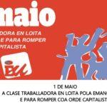 Manifesto 1 de Maio. A clase traballadora en loita pola emancipación e para romper coa orde capitalista