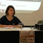 Yolanda Díaz e Javier Galán debaten en Ferrol sobre o futuro dos estaleiros, que pasa por implantar as novas tecnoloxías ao proceso de produción