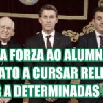 Esquerda Unida anima o alumnado galego a que non se matricule na materia de Relixión no vindeiro curso escolar