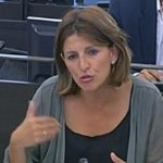 Yolanda Díaz pregunta ao Goberno polo restablecemento do subsidio por desemprego a maiores de 52 anos