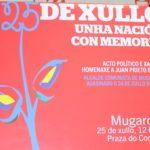Esquerda Unida dedicará o 25 de Xullo a recuperar a memoria republicana mediante a homenaxe ao alcalde mugardés Juan Prieto Balsa