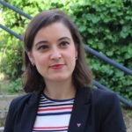 Eva Solla, entrevistada no xornal Novas do Eixo Atlántico, para falar de actualidade política