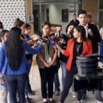 Eva Solla, entrevistada en Praza Pública co motivo do proceso electoral de Venezuela