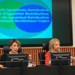 Yolanda Díaz presenta no Congreso a Proposición de Lei de Igualdade Retributiva para reducir a fenda salarial entre homes e mulleres