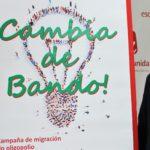 """Esquerda Unida presenta a campaña """"Cambia de Bando"""" na que anima á migración do modelo enerxético do oligopolio a outro baseado na economía social"""