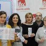 Eva Solla presenta a campaña de afiliación de Esquerda Unida Galicia