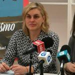 Eva Solla e Raquel Bernárdez presentan os actos de Esquerda Unida polo 8M, Día Internacional da Muller Traballadora, na Casa Xohana Torres