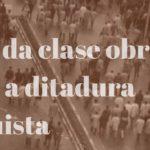 Amador e Daniel, memoria e exemplo da loita da clase obreira contra a ditadura franquista