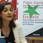 """Eva Solla presenta o acto de EU e o PCG """"Siria en perspectiva"""", que terá lugar en Vigo e abordará o conflito do país da man de expertos académicos e políticos"""
