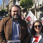 Esquerda Unida denuncia neste 1 de Maio o aumento de sinistralidade laboral e o mantemento da precariedade laboral en Galicia