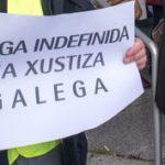 Esquerda Unida mostra de novo o seu apoio ao persoal de Xustiza ante a soberbia da Xunta de Galicia