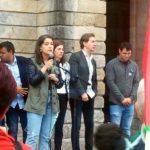 Esquerda Unida súmase á concentración de Sogaps para esixir liberdade do pobo saharauí e dar a benvida aos nenos e nenas saharauís do Programa Vacacións en Paz