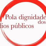 """Esquerda Unida apoia a mobilización deste 8 de setembro: """"Pola dignidade dos medios públicos"""""""