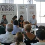 """Yolanda Díaz participa na presentación da proposta económica trasladada ao Goberno e enfatiza a medida de """"subir o SMI a 1.000 euros"""""""