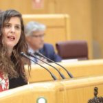 A senadora Vanessa Angustia defende a equiparación salarial das Forzas e Corpos de Seguridade do Estado