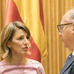 Yolanda Díaz demanda na Comisión de Industria máis carga de traballo para Navantia