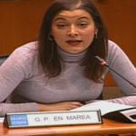 A vicepresidenta do Parlamento denuncia a falta de pediatras en Aldán e o tacha dunha irresponsabilidade por parte da Xunta de Galicia