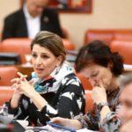 Yolanda Díaz reivindica na Deputación Permanente do Congreso unha serie de demandas imprescindibles para o noso país
