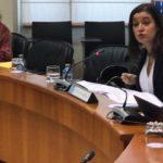 Eva Solla denuncia a situación de deterioro da sanidade pública reflectida no Hospital de Verín