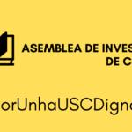 Esquerda Unida manifesta o seu apoio á mobilización da comunidade universitaria de Compostela a prol da dignidade investigadora e docente