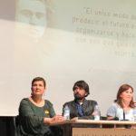 Eva Solla, Rubén Pérez e Marcos Cal participan no acto de presentación de Pedro Ocampo como candidato para as Eleccións Municipais no Porriño