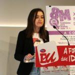"""Eva Solla: """"A fenda salarial, que chega a un máximo histórico do 30% en Galicia, lastra a emancipación das mulleres no noso país"""""""