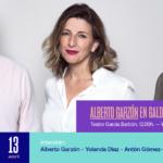 Alberto Garzón chega a Vigo para falar das propostas de En Común Unidas Podemos