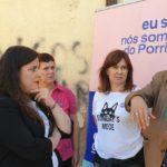 A candidata de Unidas Podemos Cambiar Europa, Vanessa Angustia, demanda un Plan de descontaminación de lindano no Porriño