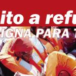 """Esquerda Unida súmase á concentración do Foro Galego de Inmigración polo """"Dereito ao Refuxio"""", na Coruña"""