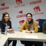 Esquerda Unida reúnese coa Sociedade Galega de Sexoloxía de cara a completar a proposta programática en materia de saúde